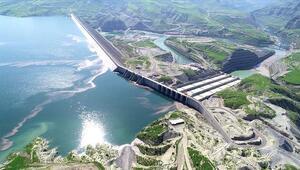 Ilısu Barajından ekonomiye 3 ayda 375 milyon lira katkı