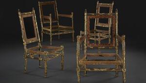 1778 yılında yapılmıştı 4 sandalye 1 milyon İngiliz pounduna satıldı