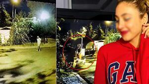 Güvenlikli sitede dehşet anları Genç kadını sokak ortasında boğmaya çalıştı