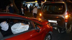 Kahramanmaraşta zincirleme trafik kazası