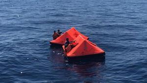 İzmirde Türk kara sularına bırakılan sığınmacılar kurtarıldı