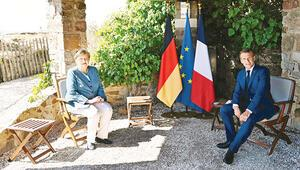 Merkel'den Doğu Akdeniz mesajı: Macron'la farklıyız