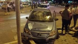 Karabükte otomobille motosiklet çarpıştı: 3 yaralı