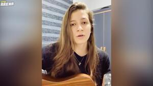 Beşiktaş Kadın Futbol Takımı yıldızı İrem Eren sesiyle büyüledi