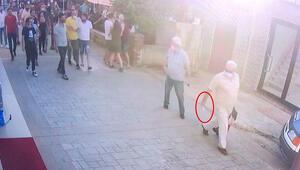 Paylaşımları tepki çekmişti Yolda karşılaştı, kadınlara bıçak çekti, vatandaş tepki gösterince polise sığındı