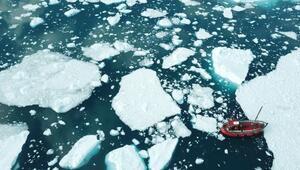 Grönlandda 2019da rekor düzeyde buzul eridi