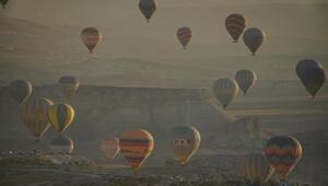 Sıcak hava balonu uçuşlarına koronavirüs genelgesi