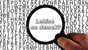 Lehine ne demek Lehine nedir Lehine TDK kelime anlamı