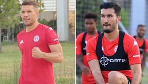 Nuri Şahin ile Lukas Podolski arasındaki buzlar eridi mi Transfer açıklandıktan sonra...