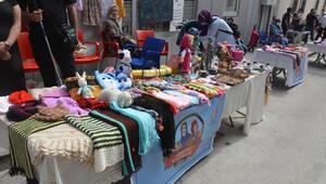Bilecikte, üretici kadınlar pazarı açıldı