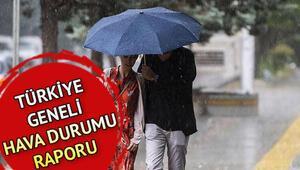Hava durumu tahminleri 23 Ağustos: Pazar günü hava nasıl olacak O illere yağış uyarısı