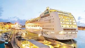 Akdeniz'e ilk cruise