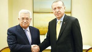 Erdoğan'dan Abbas'a: 'Türkiye yanınızda'