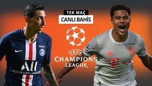 Şampiyonlar Ligini hangi takım kazanacak PSG ile Bayern arasında iddaada favori olan...