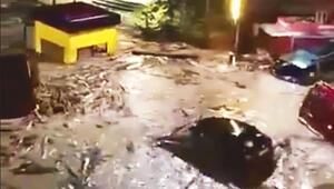 Giresun'da sel can aldı: 1 ölü, 1 kayıp
