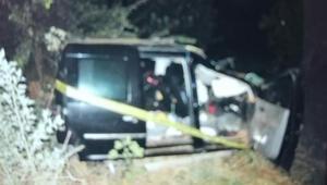 İzmirde feci kaza: 2 ölü