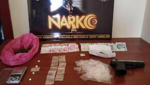 Keşan'da uyuşturucu operasyonu: 7 gözaltı