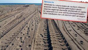 Son dakika: Antalyada skandal görüntü Belediyeyle olan sitemizin çok işleri var, büyütmeyelim