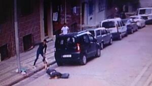 Sultangazide taciz iddiasına dayak kamerada