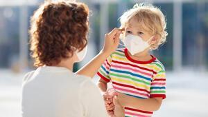 Koronavirüsten korunmak için çocuklar maske takmalı mı