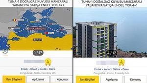 Zonguldak açıklarında 150 km uzakta bulunan doğalgaz rezervi ev ilanlarını da etkiledi: Tuna-1 manzaralı satılık daire
