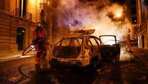 PSGliler Parisi yaktı: 16 polis yaralandı, 148 kişi gözaltına alındı