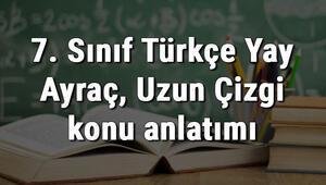 7. Sınıf Türkçe Yay Ayraç, Uzun Çizgi konu anlatımı