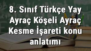 8. Sınıf Türkçe Yay Ayraç Köşeli Ayraç Kesme İşareti konu anlatımı