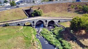 Mimar Sinan'ın yaptığı köprünün hali içler acısı