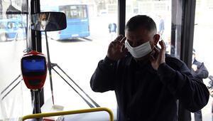 65 yaş toplu taşımada kendini riske atıyor