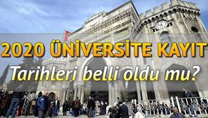 Üniversite kayıtları ne zaman başlıyor İşte üniversite kayıt belgeleri ve kayıt tarihleri