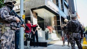 Polisten kaçan şüphelide tabanca ele geçirildi