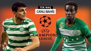 Hangi takım Şampiyonlar Ligine bir adım atacak Celticin Ferencvaros karşısında iddaa oranı...