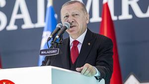 Son dakika haberler... Cumhurbaşkanı Erdoğandan sert sözler: Yaparız diyorsak yaparız, karşımıza çıkmak isteyen buyursun gelsin