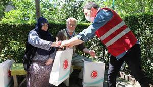Sultanbeyli'de pandemide 61 bin 375 vatandaşa sosyal yardım dağıtıldı