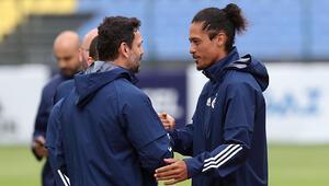 Son dakika | Fenerbahçede yeni transfer Lemos ilk antrenmanına çıktı