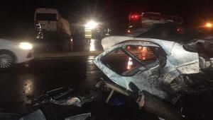Denizlide zincirleme trafik kazası