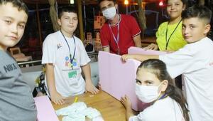Kastamonulu öğrenciler elektriksiz buzdolabı geliştirdi