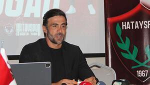 Hatayspor Teknik Direktörü Ömer Erdoğandan transfer açıklaması