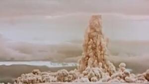 Görüntüler ortaya çıktı... Hiroşimadan 3333 kat daha güçlü