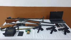 Kaçak silah ticareti yapanlar mermiyi çekirdek, silahı cesaret olarak şifrelemiş