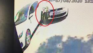Bursada sollama kazası kamerada; bebekli aile ve 3 kişi yaralı