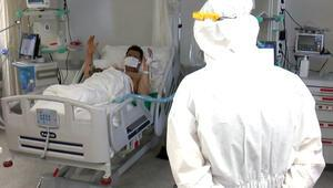 Yoğun bakımdaki koronavirüs hastasından halay sitemi