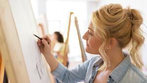 Stresle resim yaparak baş edebilirsiniz Nasıl mı