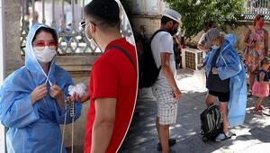 Son dakika haberi: Ayasofya Camii girişinde dikkat çeken görüntü