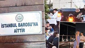 """İstanbul Barosu'ndan """"Sosyal tesis gece kulübü mü oldu"""" sorusuna """"Cevap vermiyoruz"""" yanıtı"""
