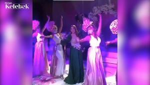Sihirli Annem dizisinin oyuncusu Gizem Güven geçtiğimiz akşam kına gecesi yaptı.