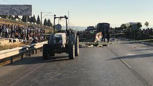 3 tarım işçisinin öldüğü kazaya karışan traktörü değiştirmişler