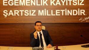Başkan Eken: Türk milleti, bağımsızlığından ve özgürlüğünden asla taviz vermedi