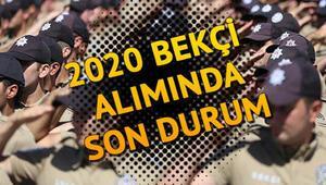 2020 / 1.Dönem bekçi alımında son durum: 2020 bekçi alımı başvuruları ne zaman